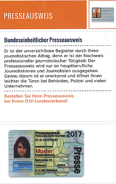 verdi presseausweis hessen